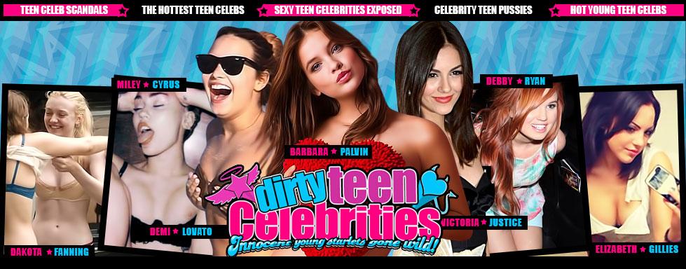 dirty teen celebrities !